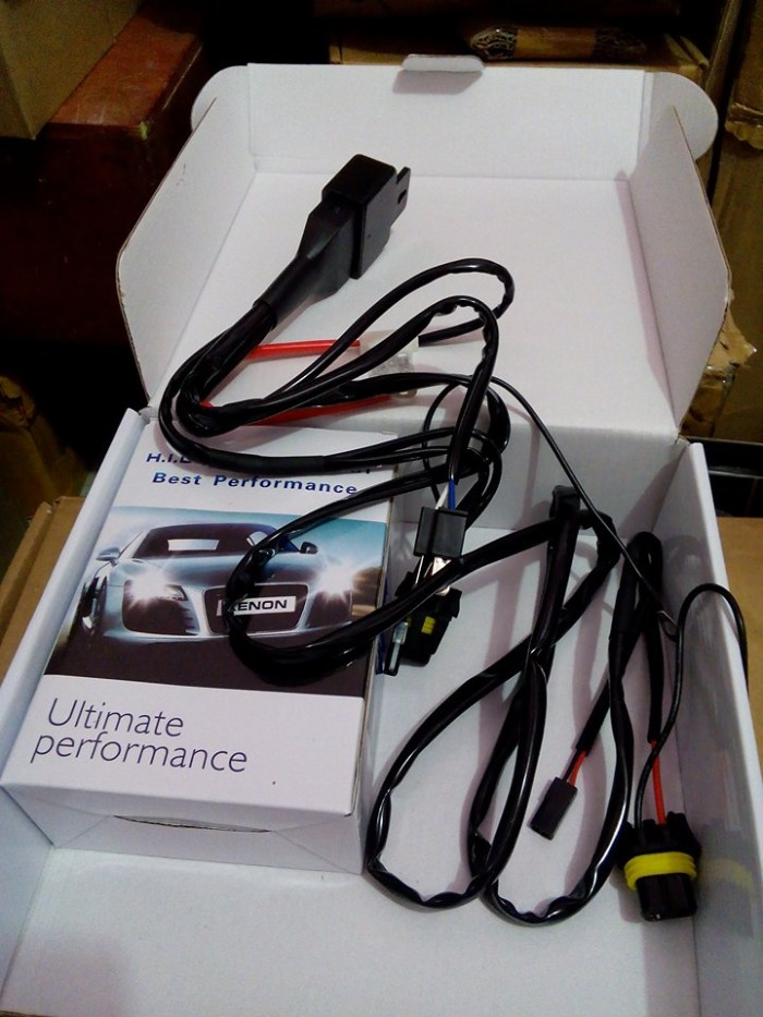 harga Kabel Set Hid /  Kabel Relay Hid / Wiring Harness Controller Tokopedia.com