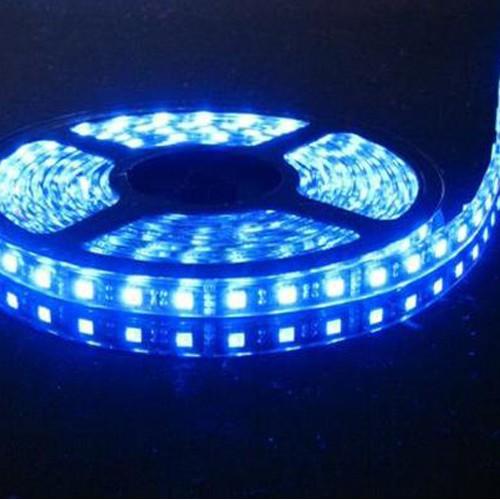 Foto Produk SMD LED strip 3528 IP44 outdoor 12v hijau merah biru warmwhite white - Hijau dari GrosirAksesorisFashion