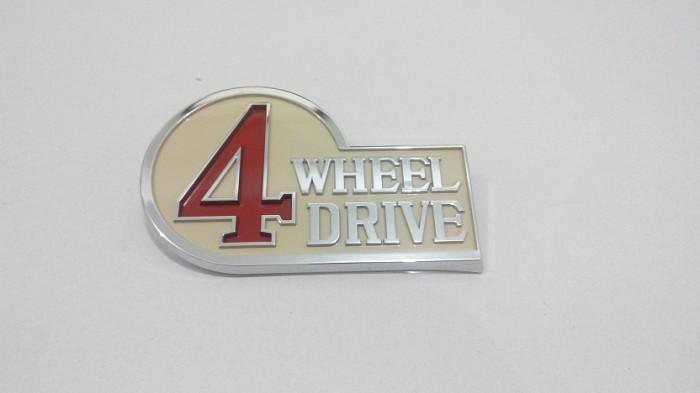 harga Emblem decal 4wheel drive/ 4x4 oem toyota hardtop fj/bj40 Tokopedia.com