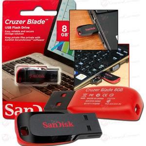 Flashdisk SanDisk 8GB Cruzer Blade Original Flash Disk 8 GB