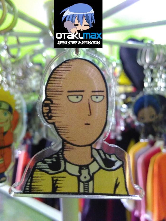 Jual Gantungan Kunci Anime Saitama One Punch Man Kab Sleman Otakumax Tokopedia
