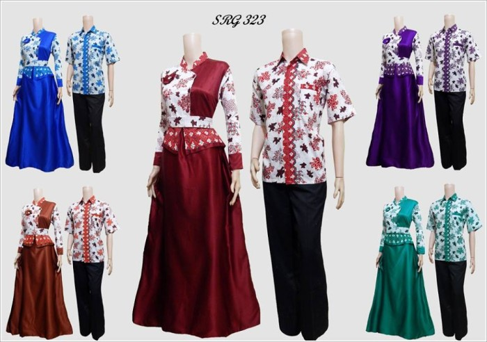 Jual Baju Batik Couple Indrisan Batik Tokopedia