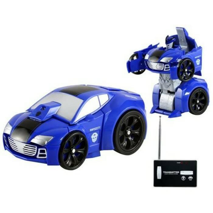 Jual Mainan Mobil Remote Control Rc Mini Transformers Mobil Bisa Jadi Robot Beauty Ol Tokopedia