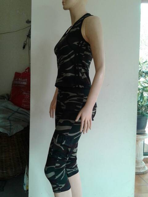 harga Aleizha baju senam army set 3/4 cuz sz m-xl Tokopedia.com