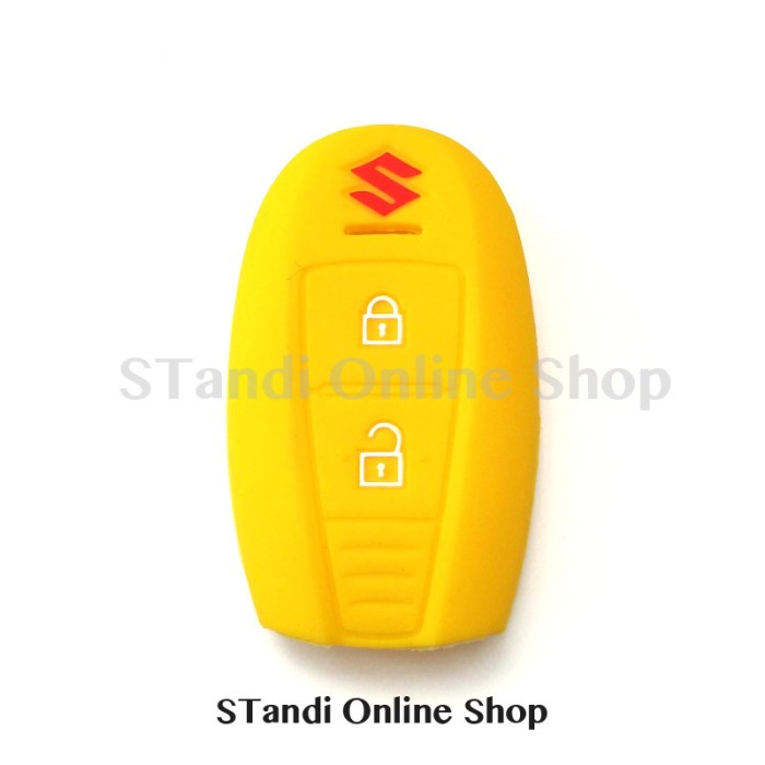 Kondom Kunci Silikon Remote Suzuki All New Swift New Ertiga Kuning