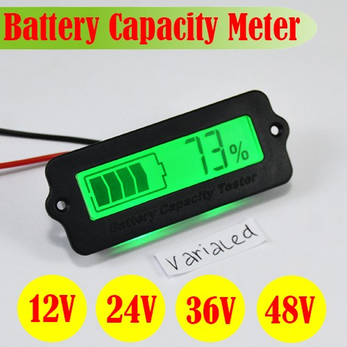 harga Display lcd monitor power aki meter capacity battery 8-63v 12v baterai Tokopedia.com