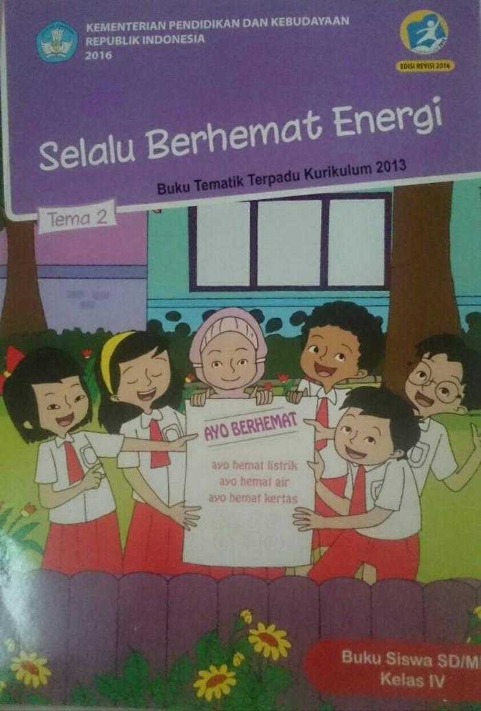 Jual Buku Sekolah Tematik Kelas 4 Tema 2 - Kota Surabaya - bukudisekolah |  Tokopedia