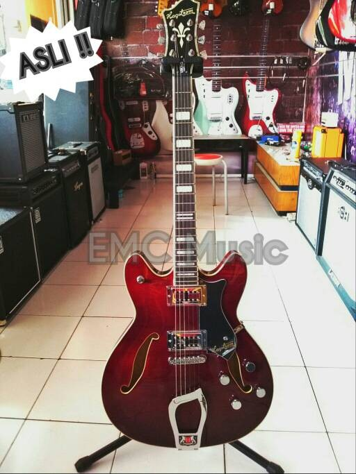 harga Gitar elektrik hagstrom hollow model Tokopedia.com