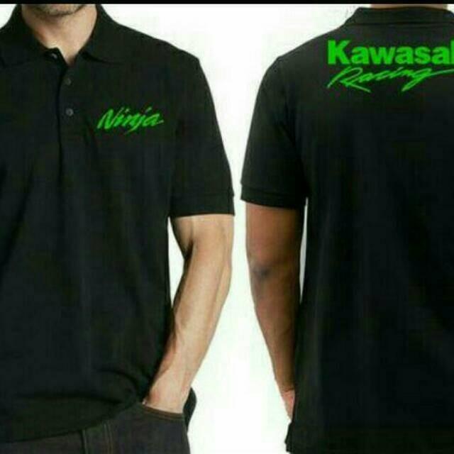 harga Polo shirt/ kaos kerah/ kawasaki ninja Tokopedia.com