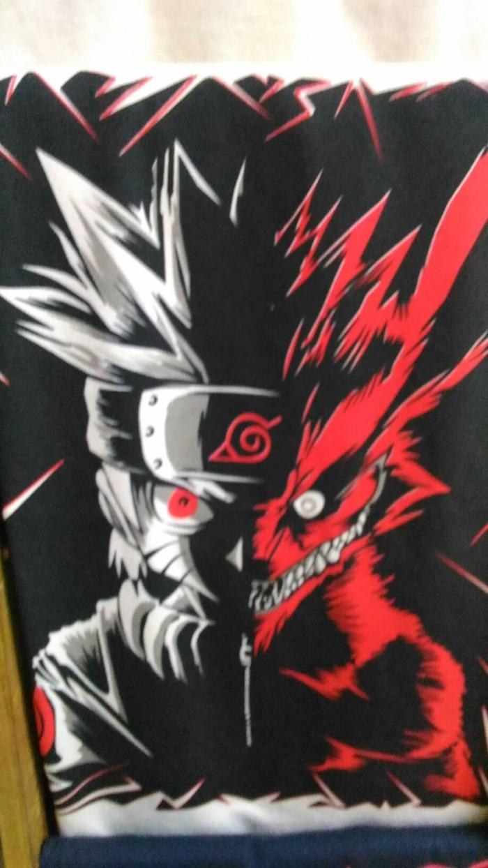 Jual Kaos Sablon Naruto Kyuubi Kota Depok Theos Online Shop