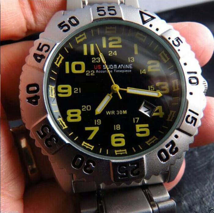 Jual Jam Tangan Original merk U.S Submarine Limited - Baju Bus ... 600f5f6400
