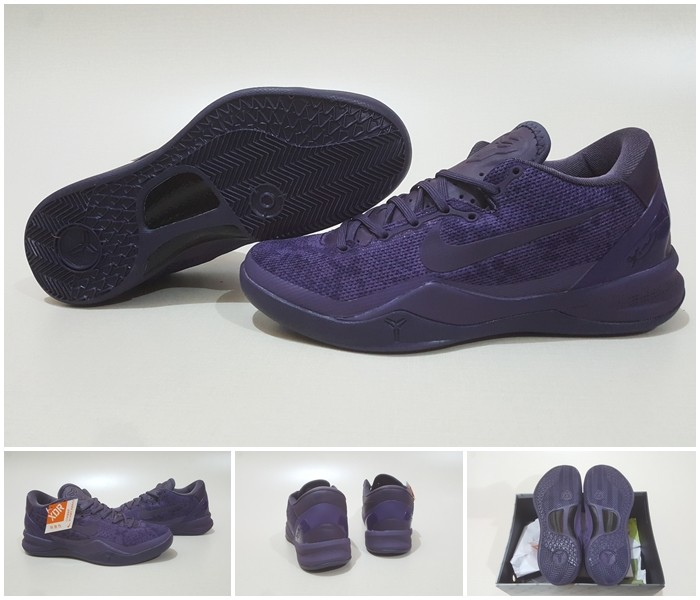 new styles 7c52b 22776 harga Sepatu basket nike kobe8 fade to black Tokopedia.com