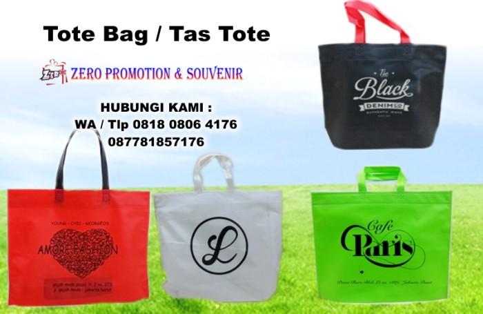 Jual Jual Tote Bag Tas spunbond murah - souvenir promosi kantor ... 0a838514d4