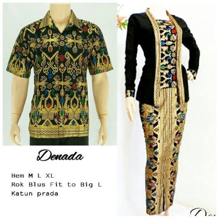 harga Batik sarimbit panjang/couple/seragam/setelan halus Tokopedia.com