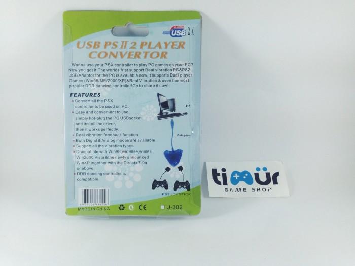 Jual Converter Stik Stick Ps2 Ke Ps3 Pc Double Timur