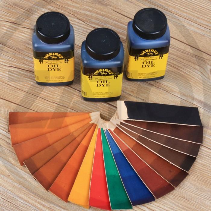 Foto Produk Fiebing's OIL DYE   Leather Dye Color   LEATHER TOOLS dari ZATO INDONESIA