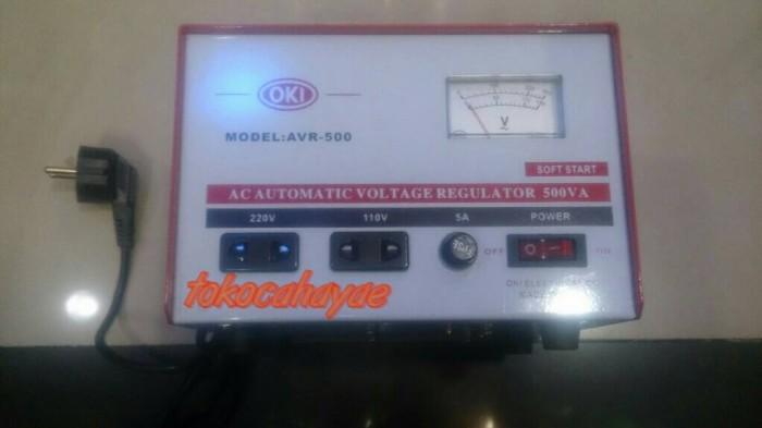 harga Stabilizer regulator listrik oki 500 watt stabiliser Tokopedia.com