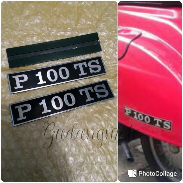 harga Emblem balok samping vespa pts 100cc Tokopedia.com