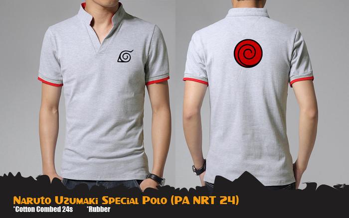 harga Kaos polo anime naruto uzumaki special polo shirt (pa nrt 24) Tokopedia.com