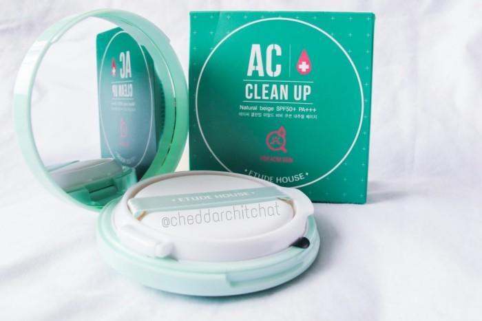 Light Source · ETUDE HOUSE AC Clean Up Mild BB Cushion SPF50 .