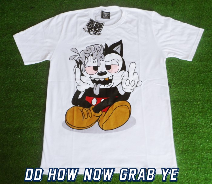 harga Tshirt / kaos dropdead how now grab ye (premium edition) Tokopedia.com