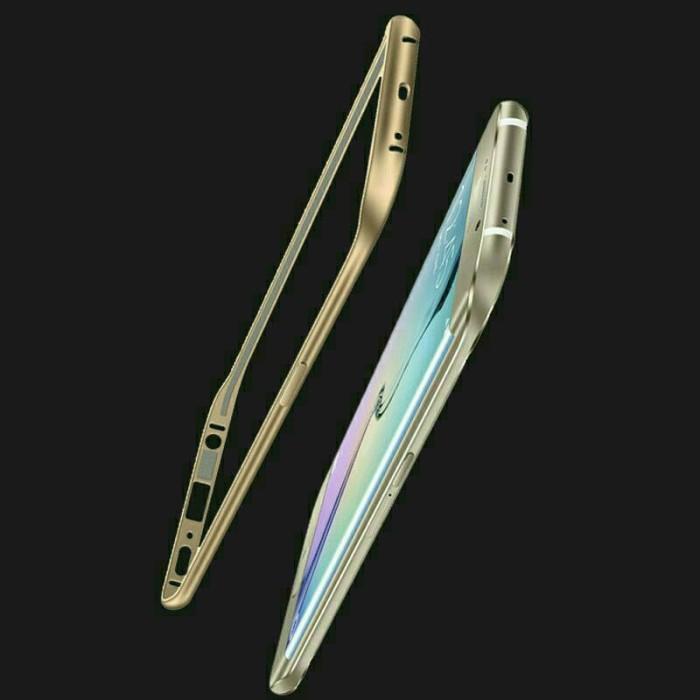 harga Samsung core 2 core2 g355 metal bumper list gold metal case cover Tokopedia.com