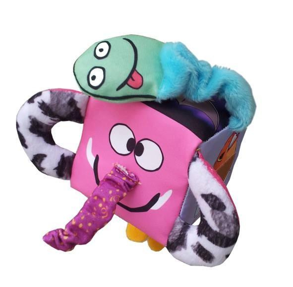 Foto Produk Mainan edukasi anak bayi balita unik, Kubus meraba mengenal Binatang dari Edukasi Toys