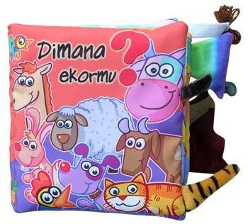 Foto Produk Mainan edukatif / edukasi anak bayi balita, buku bantal dimana Ekormu dari Edukasi Toys