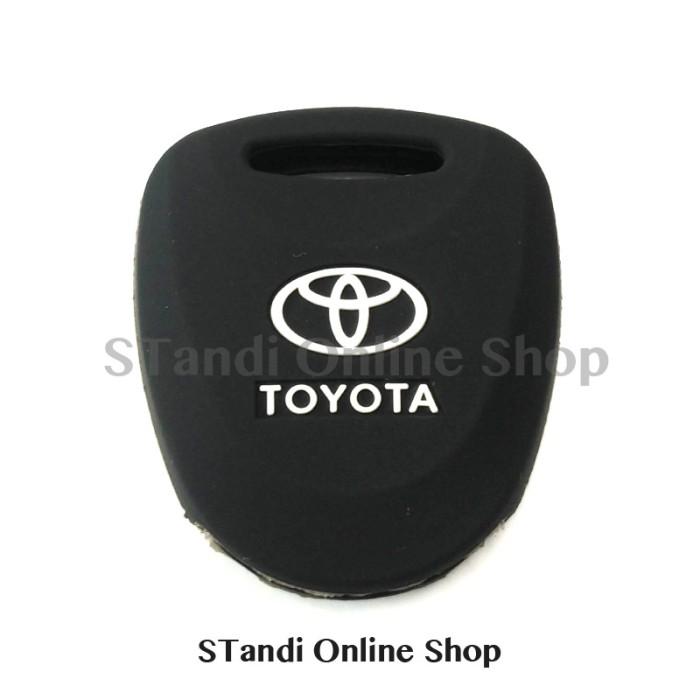 harga Kondom kunci silikon remote keyshirt toyota grand new avanza hitam Tokopedia.com