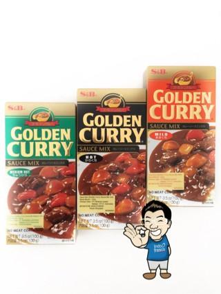 S&B Golden Curry Sauce Mix/ Saus Kari - 100g