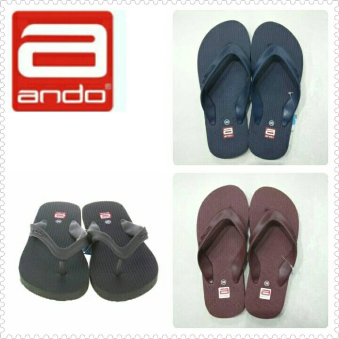 harga Sandal jepit pria / ando Tokopedia.com