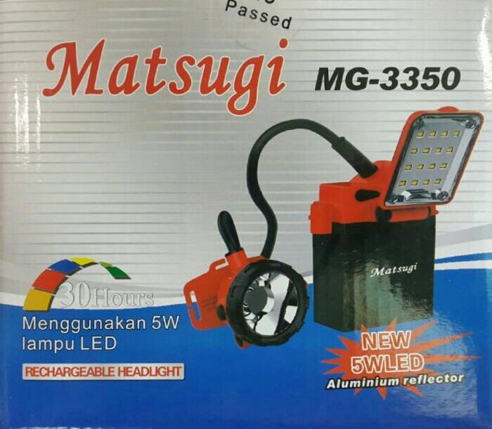 harga Lampu senter / meja matsugi mg-3350 Tokopedia.com