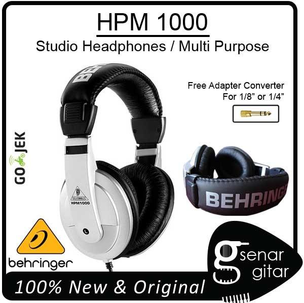 harga Behringer hpm1000 - studio monitor multi purpose headphones hpm 1000 Tokopedia.com
