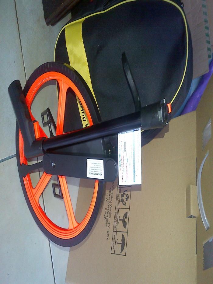 harga Measuring wheel cll 400 meteran dorong Tokopedia.com