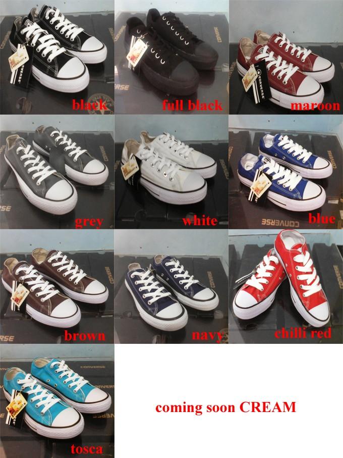 Jual Sepatu Converse All star Black + box converse undefined ... 813174ba9b