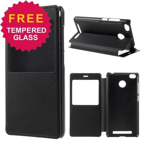Smart Leather Case Xiaomi Redmi 3 Pro/ Redmi 3s/ Redmi 3x .