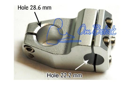 harga Stem alloy bmx untuk fork size 25.4 stang size 22.2 Tokopedia.com