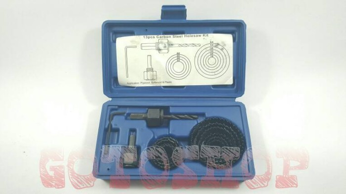 harga Holesaw Kit Hole Saw Kit Mata Bor Kayu Set 13pcs Benz Hidroponic Tokopedia.com
