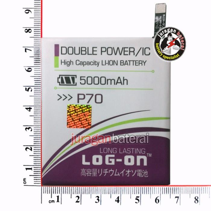 Baterai / Battery LOGON LENOVO P70 / 5000mAh Double Power