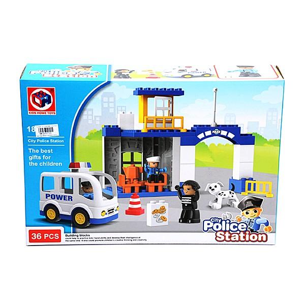 harga Otoys city police station mainan balok lego 36 pcs pa-g255755-188-113 Tokopedia.com