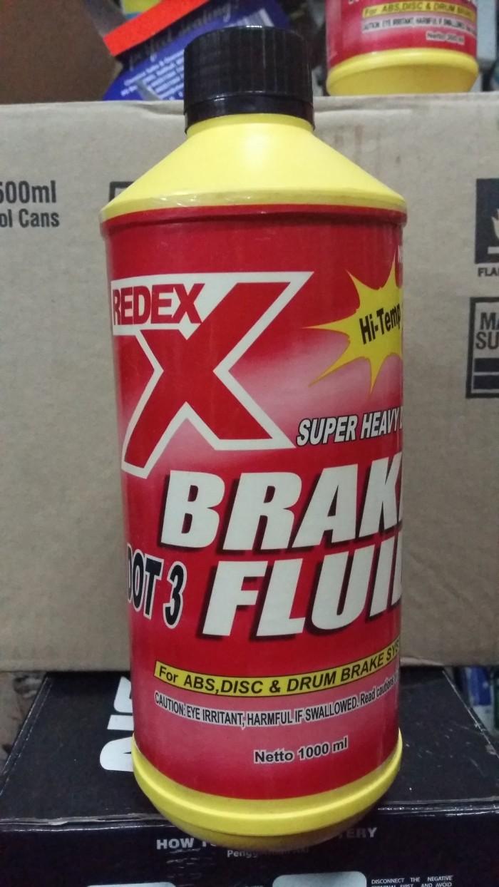 Jual Redex Dot 3 Brake Fluid Minyak Rem Netral 1 Liter Original 1liter