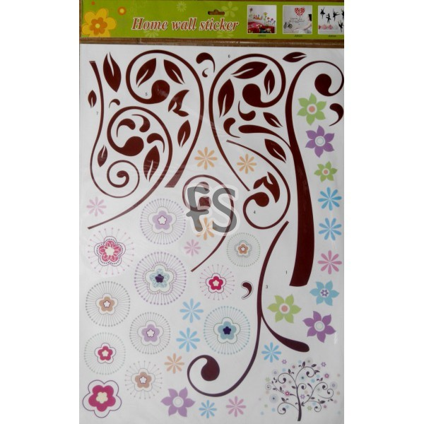 Cute Tree NOK008 - Stiker Dinding / Wall Sticker &#40 .