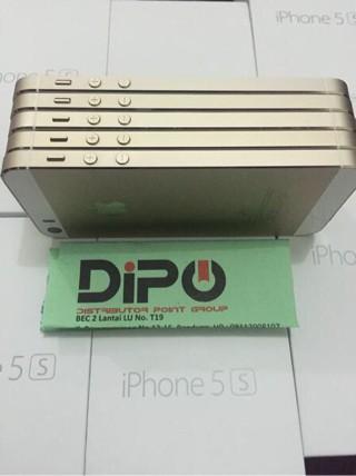 harga IPhone 5s 16GB GOLD - SECOND EX INTER - Fullset-Mulus-Imei Tembus Tokopedia.com