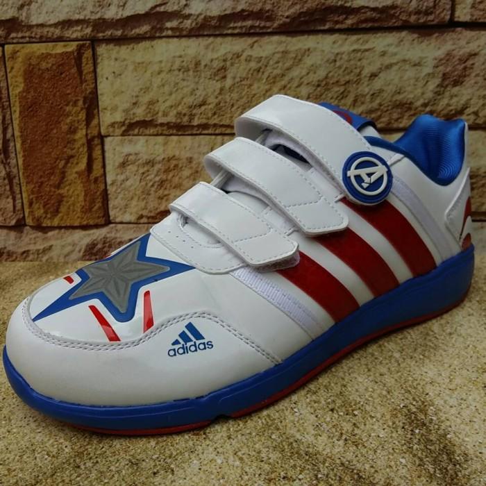 Jual Sepatu Anak Adidas Avengers Captain America Original