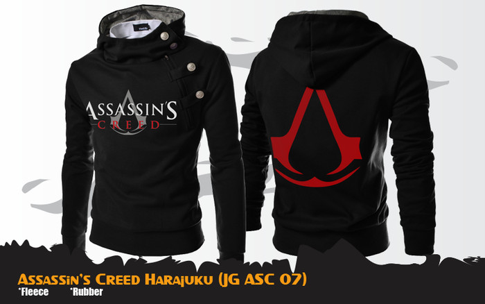 Jual Jaket Anime Game Assassin S Creed Harajuku Jacket Hoodie Jg