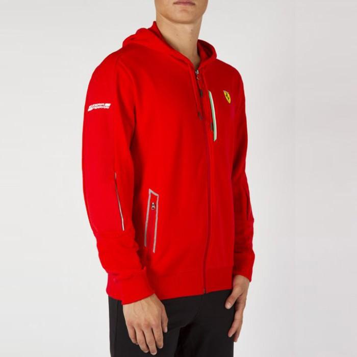Jual Jaket Puma Ferrari Track Jacket Red Original 761723-02 - Ncr Sport -  OS  bac41b50dc