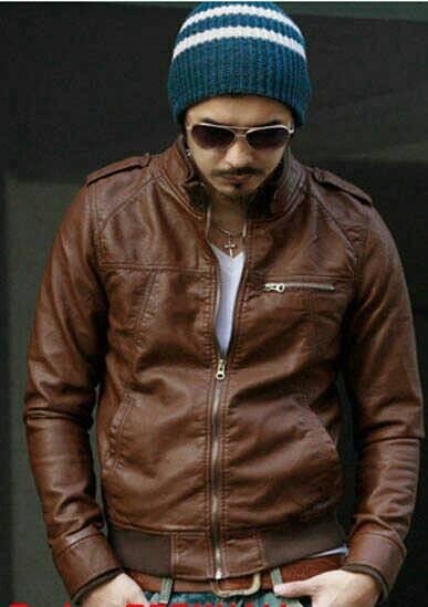 harga Jaket motor kulit sintetis pria garut keren casual korea Tokopedia.com