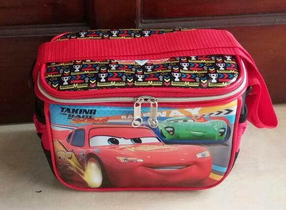 harga Lunch bag/tas bekal selempang anak aluminium foil cars mcqueen Tokopedia.com