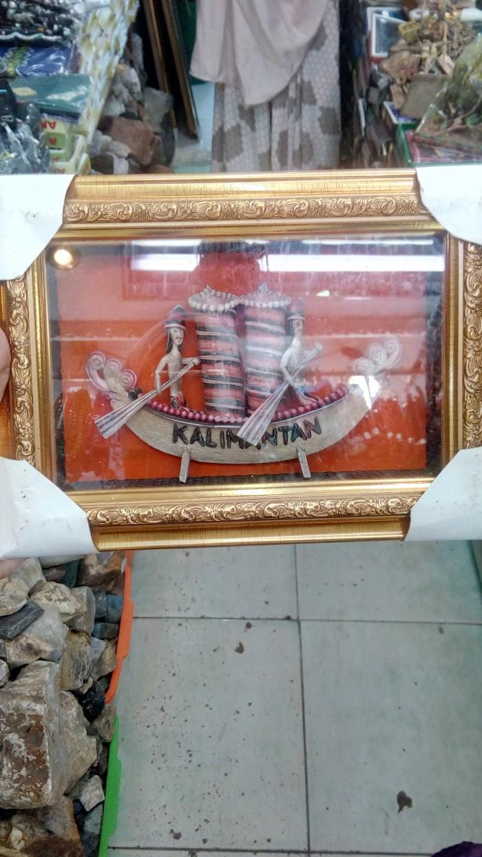 Kalimantan Souvenir Pajangan Dinding Dayak Update Daftar Harga Ck Bandana 1409018 Multifungsi Motif Hiasan Khas