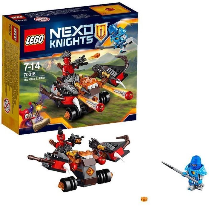New Lego Nexo Knights 70318 The Glob Lobber Set Ref Boxed